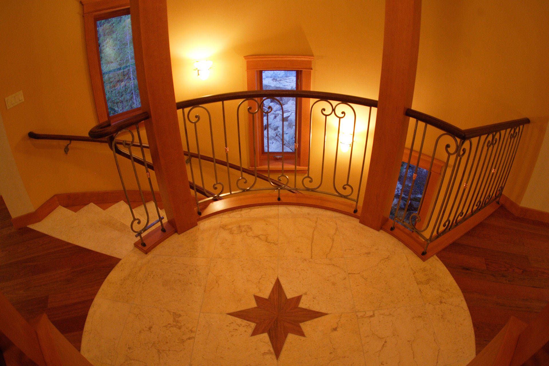 Northwood home staircase view