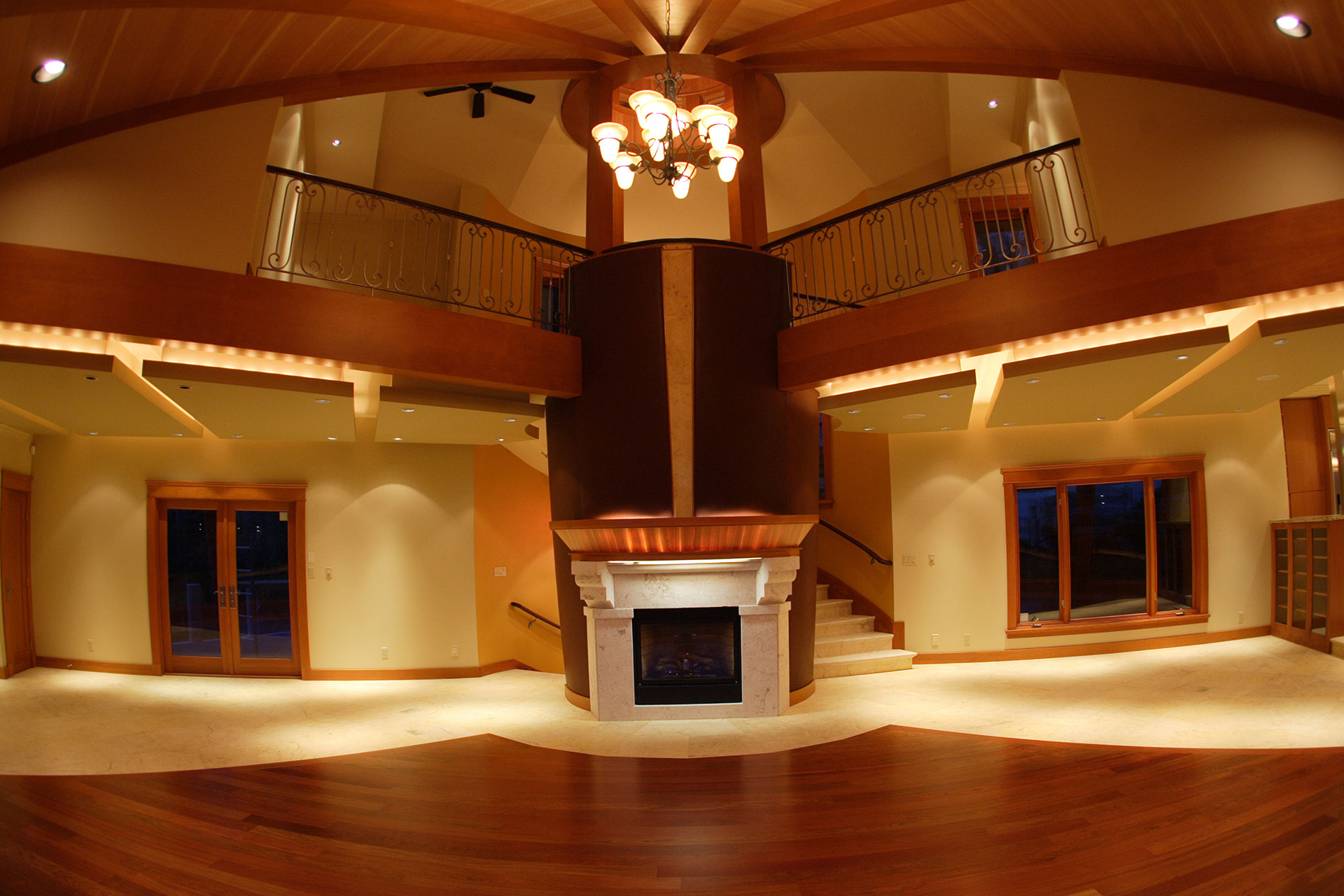 Interior of Northwood home